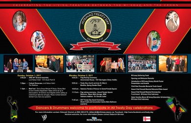 2017 Treaty Day Poster