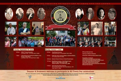 2018 Treaty Day Poster